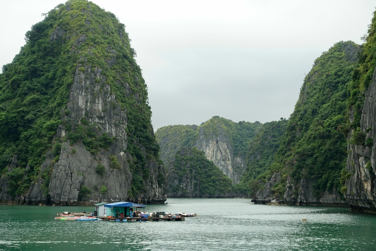 Familienausflug: Ha Long Bay